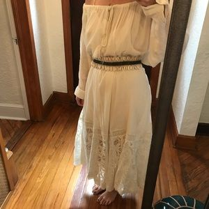 Free People gauze dress/coverup.